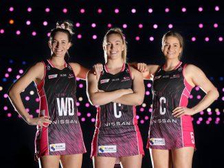 Adelaide Thunderbirds' leadership group