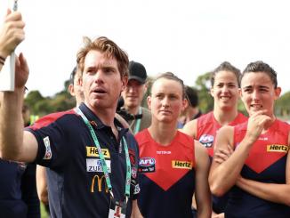 Mick Stinear coaching Melbourne