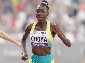 Bendere Oboya in stride