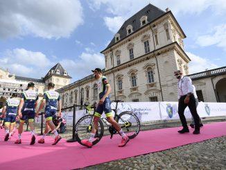 eam Presentation at the 2021 Giro d'Italia