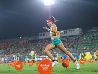 Chloe Esposito in action at Rio 2016