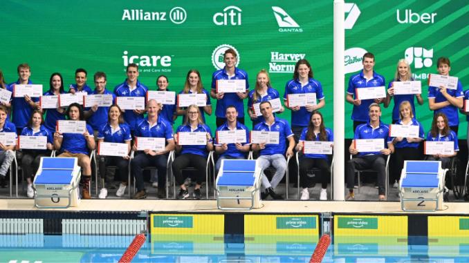 Australian Paralympic Swimming team