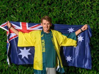 Alex De Minaur is the top ranked Australian Men's Singles player in the Olympic Tennis Team