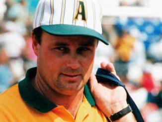 Bob Crudgington Softball Australia Atlanta 1996 Olympic Games