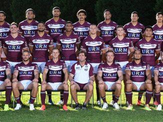 Manly Sea Eagles team photo