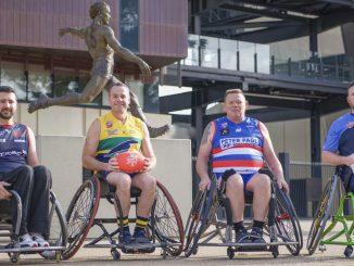 Novita SANFL Wheelchair Football League Captains 2021
