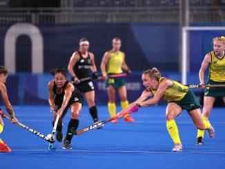 The Hockeyroos defeated the New Zealand Blacksticks