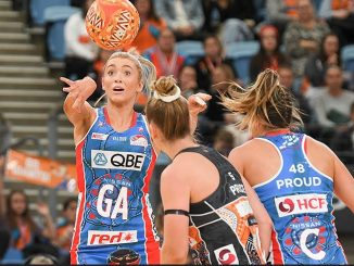 The NSW Swifts take on the Giants Netball