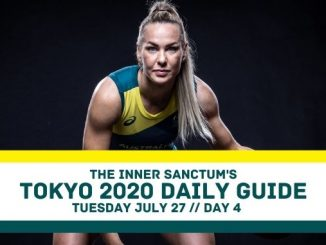 Tokyo 2020 Daily Guide