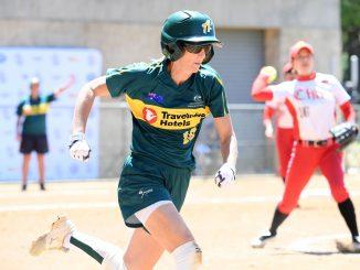 Leah Parry Aussie Spirit Softball