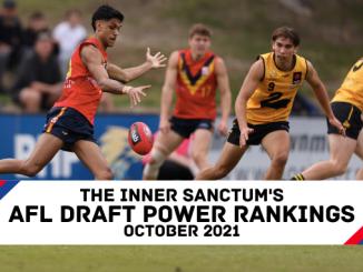 AFL Draft 2021 Power Rankings