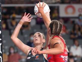 Sarah Klau was instrumental for the NSW Swifts in the major semi final.