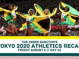 Athletics recap olympics