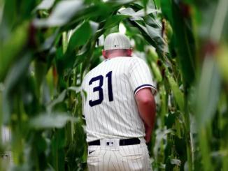 Liam Hendriks Cornfield MLB Field of Dreams