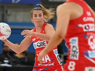 Maddy Proud NSW Swifts Suncorp Super Netball