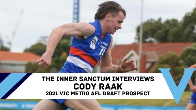 Cody Raak AFL Draft