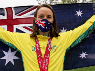 Ellie Cole was named as Australia's flag bearer on Saturday after she surpassed Priya Cooper's record to become Australia's most decorated female Paralympian