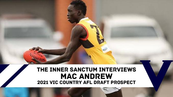 Mac Andrew AFL Draft